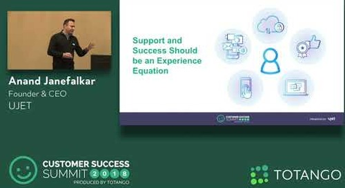 From Cost Center to Experience Equation - Customer Success Summit 2018 (Track 2)