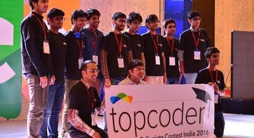 2017 Topcoder Collegiate Contest India