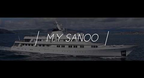 FEADSHIP M/Y SANOO for SALE Central Agent KK Superyachts
