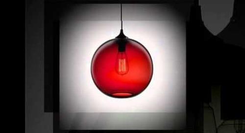 Solitaire Modern Pendant Lighting