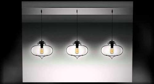 Linear 5 Modern Multi-Pendant Chandelier by Niche Modern