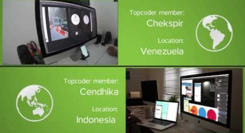 Deloitte Pixel™ Crowdsourcing Design Challenge time-lapse powered by Topcoder