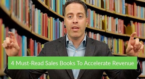 4 Must-Read Sales Books To Accelerate Revenue