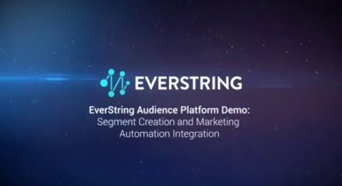 EverString Audience Platform Demo: Segment Creation and Marketing Automation Integration