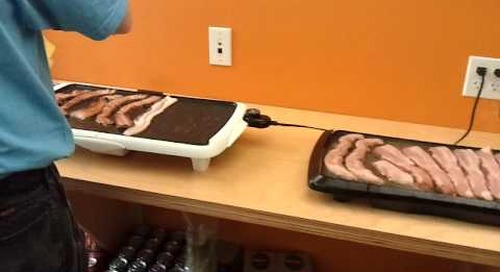 Your first glimpse into Atalasoft Bacon Day... - 2010