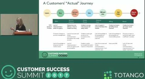 [Track 3] A New Model for Merging CX and CS - Customer Success Summit 2017