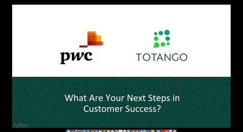 What's Your Next Step in Customer Success, featuring PwC