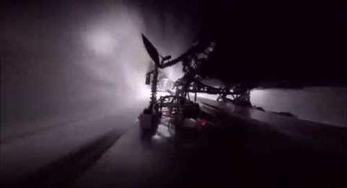 Delft Hyperloop - First run undercarriage