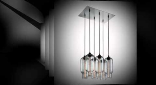 Pack 6 Modern Chandeliers by Niche - Modern Multi-Pendant Lighting
