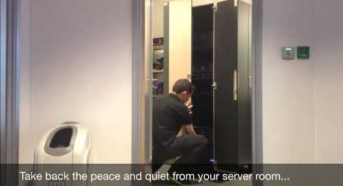"""NetShelter CX - Rid Your Office of that """"Noisy Neighbor"""""""