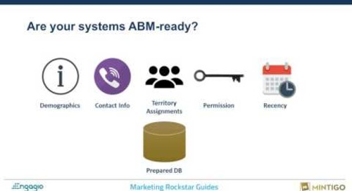 Webinar How To Build A Predictable ABM Engine