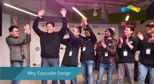Why Topcoder Design