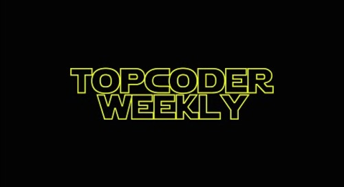 Topcoder Weekly S01E07 - STAR WARS EDITION