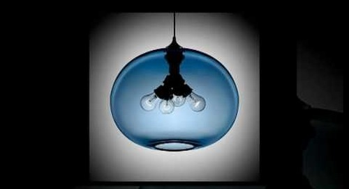 Sapphire Modern Pendant Light Preview