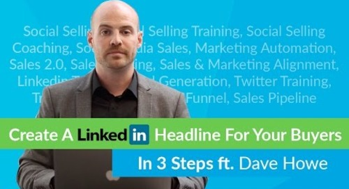 How To Create A Value-Centric LinkedIn Headline