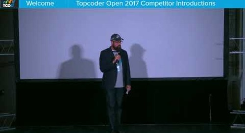TCO17 Opening Ceremony & Competitor Introductions
