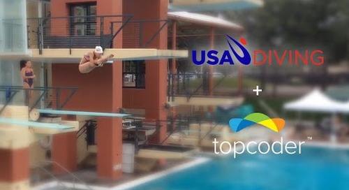Topcoder Mobile App Crowdsourcing Case Study - USA Diving iPad App
