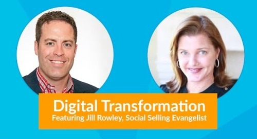 Social Selling Experts Speak Ft. Jill Rowley