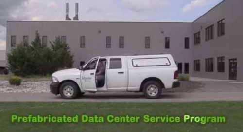 Support Services for your Prefabricated Data Center
