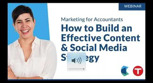 Marketing for Accountants: How to Build an Effective Content & Social Media Strategy