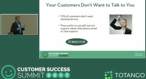 [Track 2] Helping Customers Help Themselves - Customer Success Summit 2017