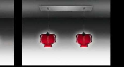 Linear 2 Modern Chandelier Lighting