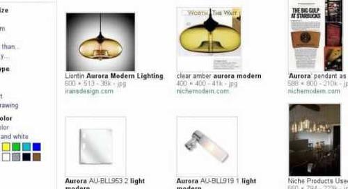 Aurora Modern Pendant Light - Search Story