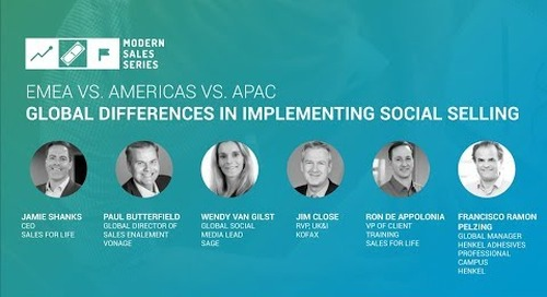 Americas vs. EMEA vs. APAC: Global Differences For Implementing Social Selling