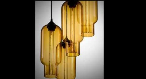Pack 4 Modern Chandeliers by Niche - Modern Multi-Pendant Lighting