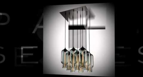 Pack 9 Modern Chandeliers by Niche - Modern Multi-Pendant Lighting