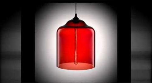 Crimson Modern Pendant Lighting by Niche Modern