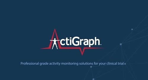 ActiGraph Clinical Trials Solution