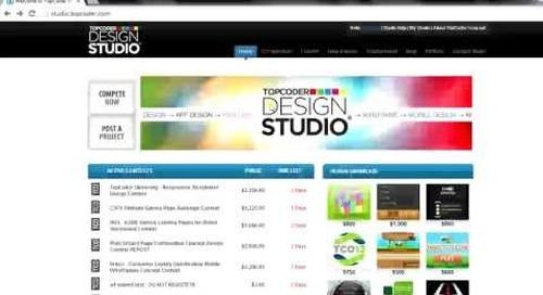 TopCoder Studio Member Tutorials | The Studio Cup Tournament by krampus