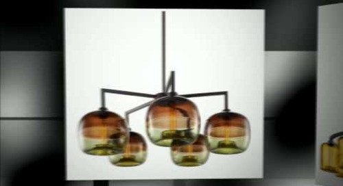 Niche - Contemporary Chandeliers with Handmade Glass