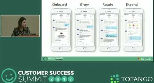 [Track 2] Disrupting the Customer Experience with Chatbots and AI - Customer Success Summit 2017
