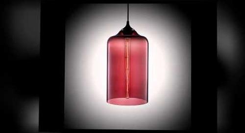 Niche Bella Handmade Modern Glass Pendant