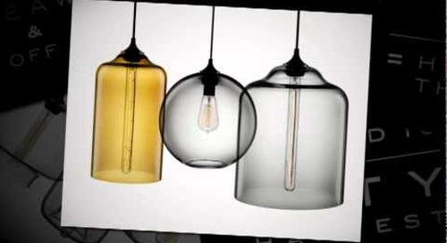 Niche Modern City Harvest Giveaway and Sale - Handmade Pendant Lighting