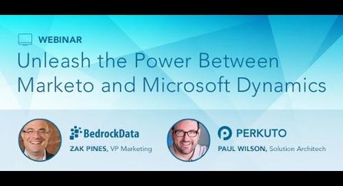 Session 3 - Marketo and Microsoft Dynamics Webinar Series