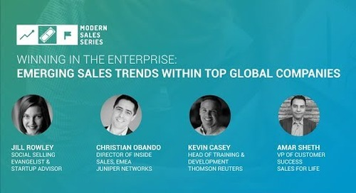 Winning in The Enterprise: Emerging Sales Trends Within Top Global Companies