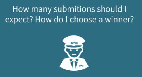 How Many Submissions Should I Expect? How Do I Select a Winner?
