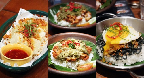 [NEW MENU] GLOBAL STREET FOOD from The People's Cafe