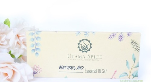REVIEW UTAMA SPICE NATURE'S AID ESSENTIAL OIL SET