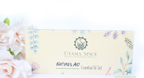 REVIEW UTAMA SPICE NATURE'S AID ESSENTIAL OIL SET