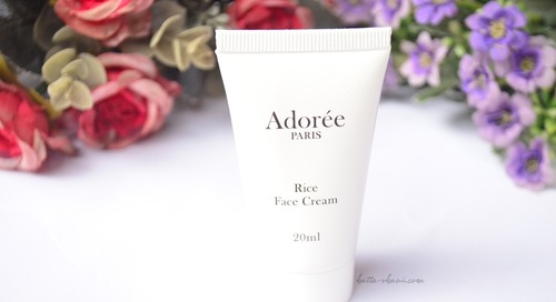 REVIEW ADOREE PARIS RICE FACE CREAM