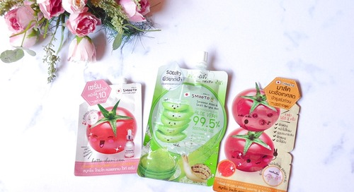 REVIEW SMOOTO | MASK, SERUM, ALOE VERA GEL