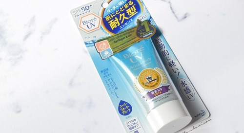 REVIEW BIORE UV AQUA RICH SPF 50+PA++++