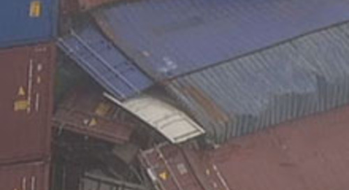 Is the ship register or ship registry liable for containers falling off a ship..??