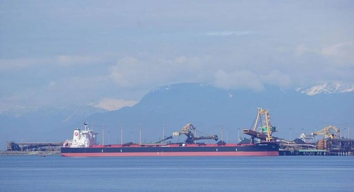 Baltic Index Slips to Three-week Low