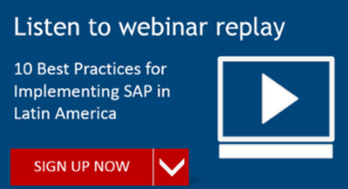 [REPLAY] 10 Best Practices for Implementing SAP in Latin America