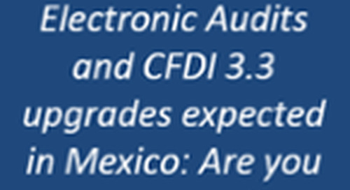 Mexico Announces Electronic Audits in 2016